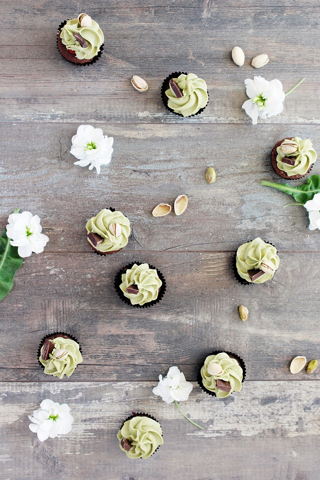 Schokoladen Pistazien Minicupcakes_1