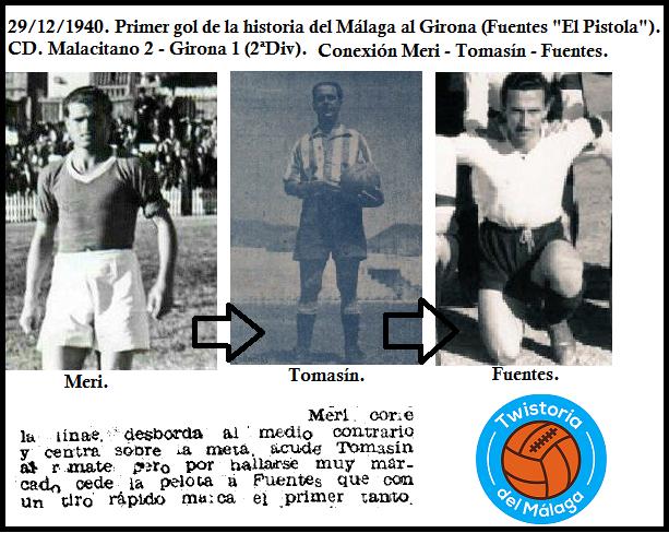 Primer gol contra el Girona.