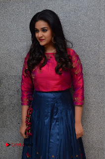 Actress Keerthi Suresh Stills at Remo Success Meet  0042.JPG
