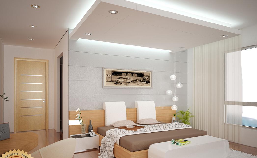 Plafon Gypsum Kamar Tidur - kamartidurterbaru.com
