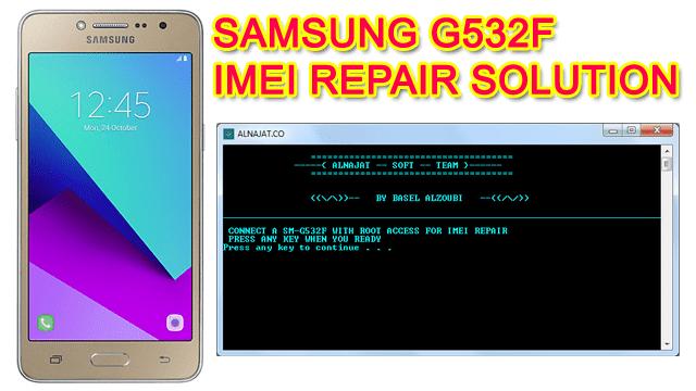 Samsung G532F IMEI Repair Solution 100% Working