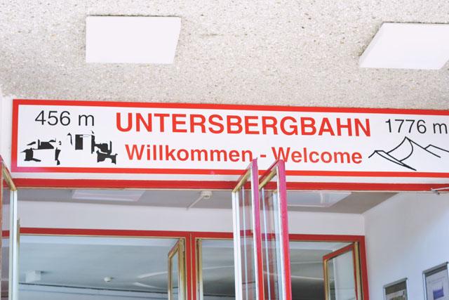 Untersbergbahn Entrance
