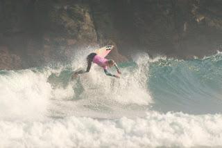 0 Justine Dupont FRA Pantin Classic Galicia Pro foto WSL Laurent Masurel