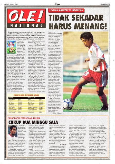 LEVADIA MAARDU VS INDONESIA