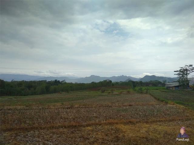 Pemandangan di Wonogiri