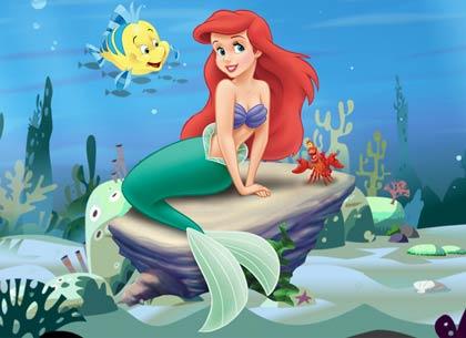 dongeng bahasa Inggris singkat Ariel the little mermaid