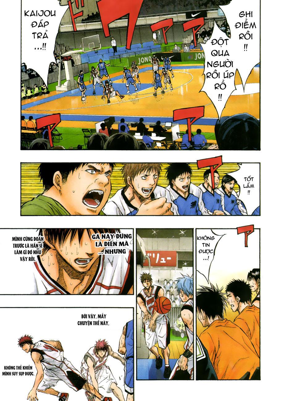 Kuroko No Basket chap 196 trang 9
