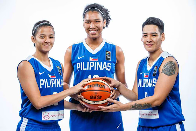 List of Official Lineup Perlas Pilipinas 2017 FIBA Women's Asia Cup