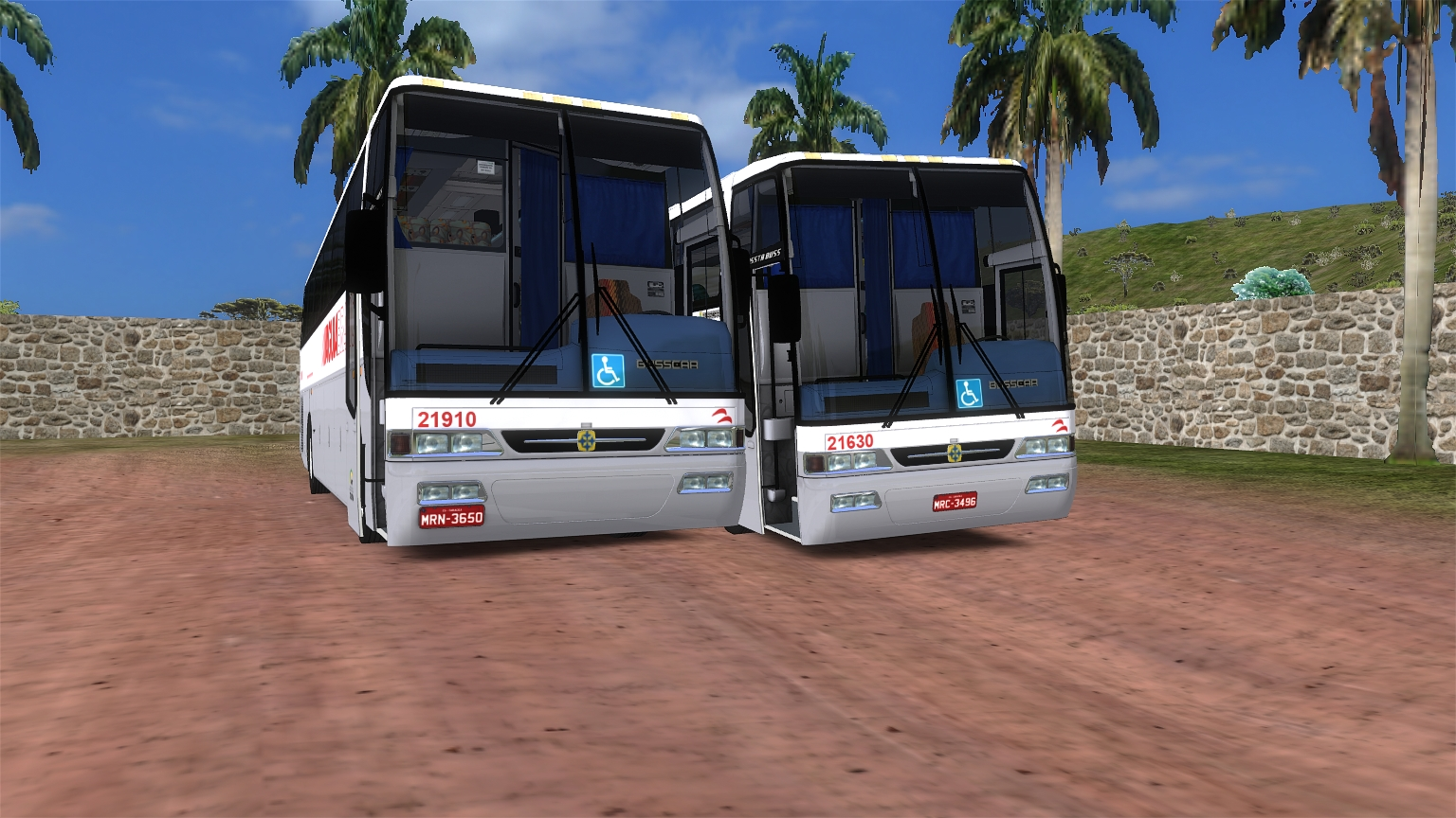 Busscar Vissta Buss Mercedes-Benz O400RSE e O400RSD OMSI2_20171227_155109