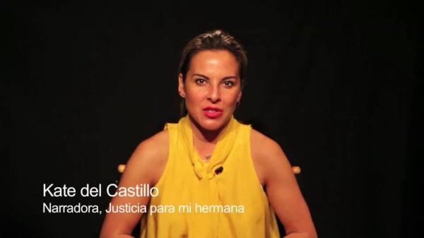 Kate del Castillo denuncia ser víctima del Gobierno de México