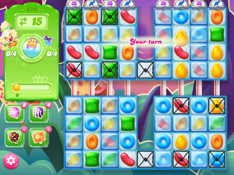 Candy Crush Jelly Saga level 575