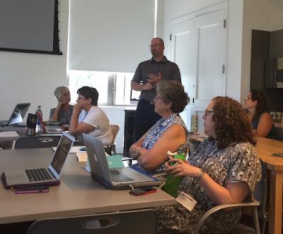 Rabbi Jason Miller teaching at Kenyon College