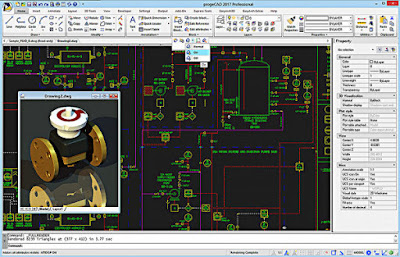 ProgeCAD Screen Shot