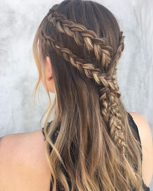 Se você ama penteados com tranças, vai amar saber de 5 penteados para você fazer sozinha e que são super fáceis, além de serem lindos e práticos. Você pode usar em festas, casamentos, eventos, aniversários, bailes, formaturas , entre outros. Muitas atrizes fazem muitos penteados de tranças e arrasam.