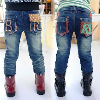 Celana Jeans Anak Laki-Laki Keren Masa Kini