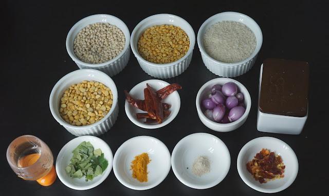 Ingredients-for-Adai-Recipe