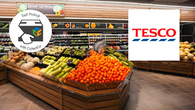 RM80 for RM100 Tesco Cash Voucher