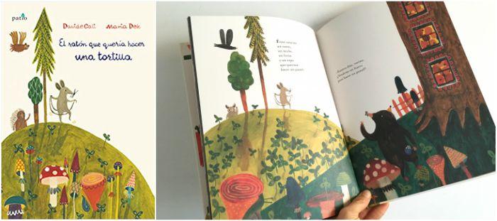 mejores cuentos infantiles 3 a 5 años, libros recomendados raton queria hacer tortilla