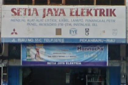 Lowongan Kerja Setia Jaya Elektrik Pekanbaru Oktober 2018