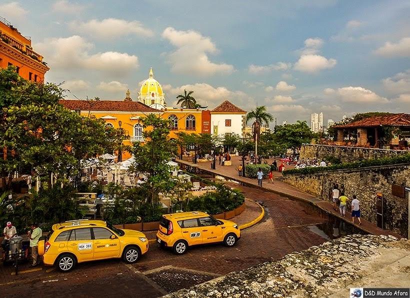 Plaza Santa Tereza - O que fazer em Cartagena, Colômbia