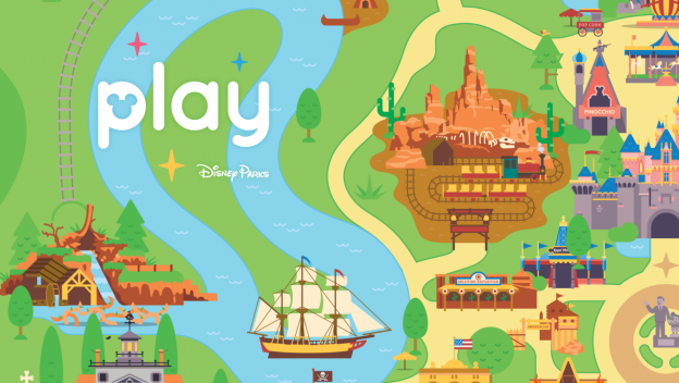 Aplicativo Play Disney Parks