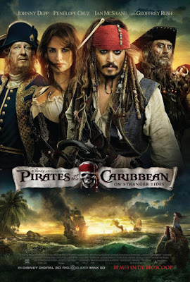 Pirates Of The Caribbean: On Stranger Tides 2011 DVD R1 NTSC Latino
