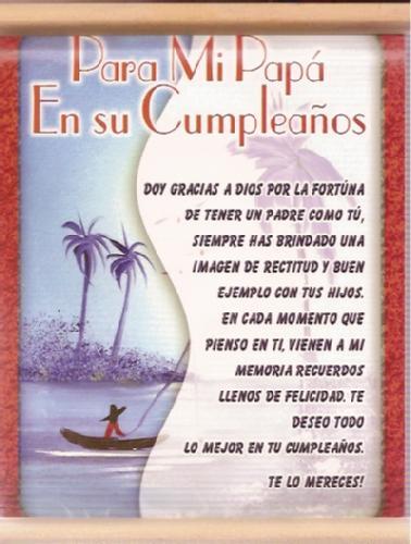 Imágenes De Cumpleaños Para Papá Felicitaciones Frases