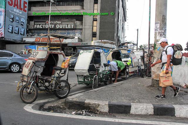 cycle rickshaw, Manila, Philippines