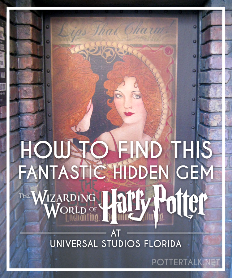Universal Studios Florida Fantastic Beasts Location