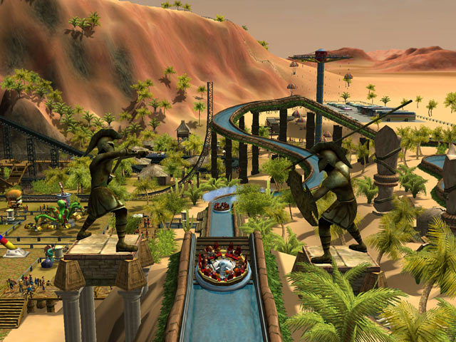 RollerCoaster Tycoon 3D Coming to Nintendo DS This Fall