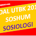 Soal Asli UTBK 2019 Sosiologi dan Pembahasan