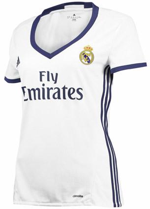 camiseta Real Madrid mujer 2016-2017