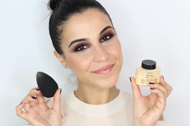 Cómo Aplicar Polvos Sueltos con Esponja o Beauty Blender