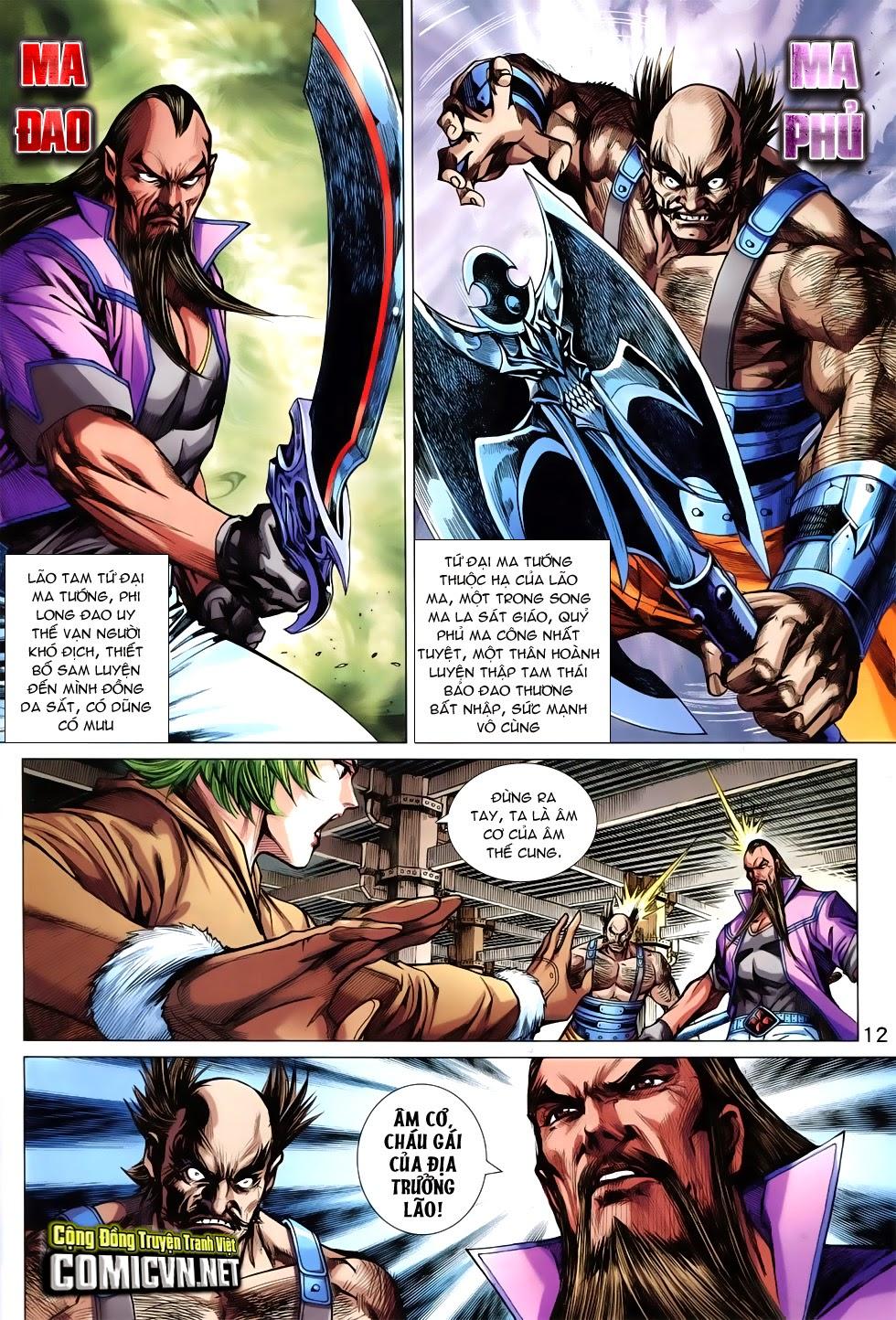 Tân Tác Long Hổ Môn Chap 744 page 12 - Truyentranhaz.net