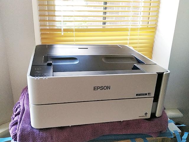 Gadget Explained: Epson EcoTank ET-M1170 Black Pigment Ink