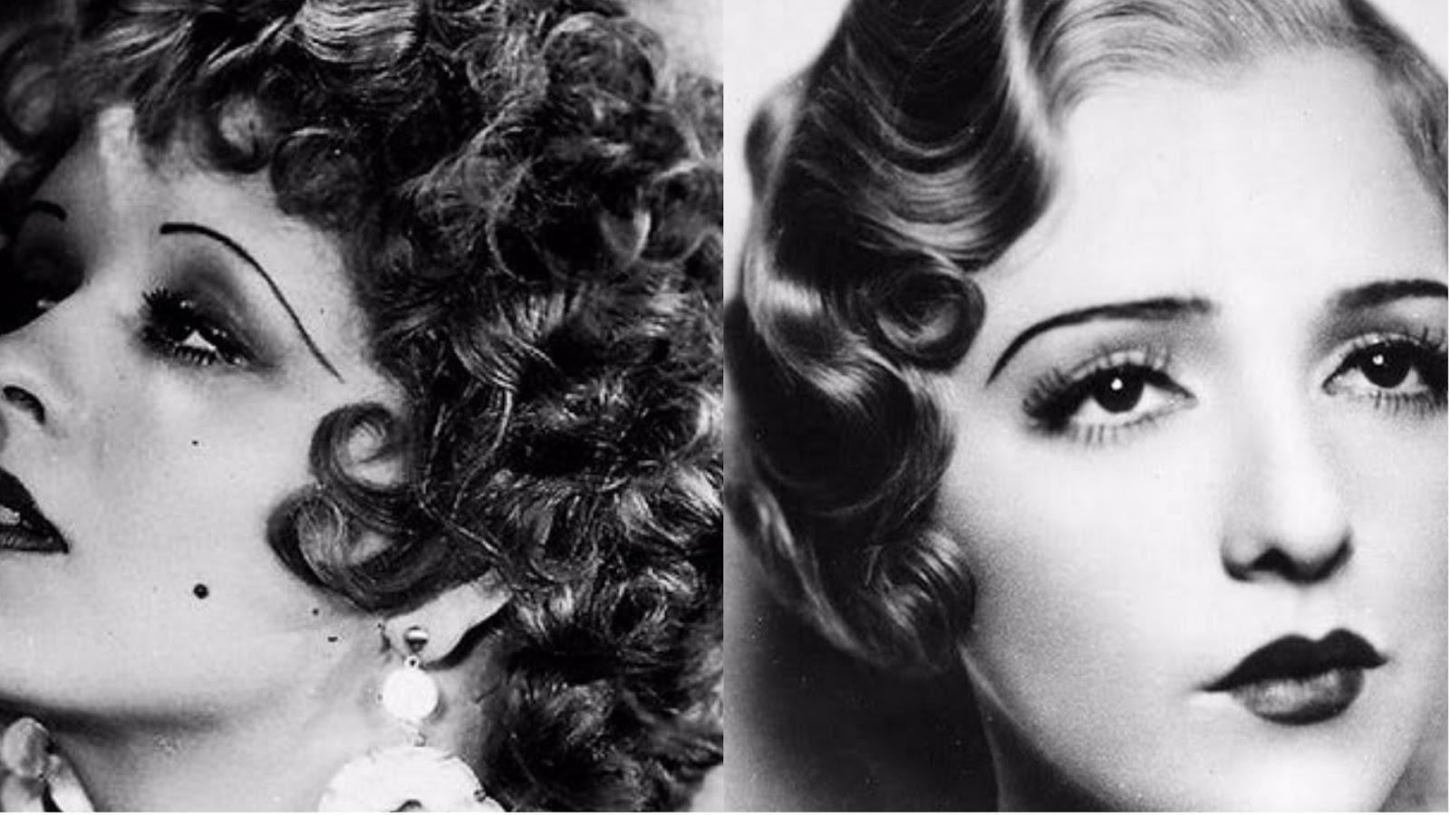 Resultado de imagem para moda anos 20 sobrancelhas