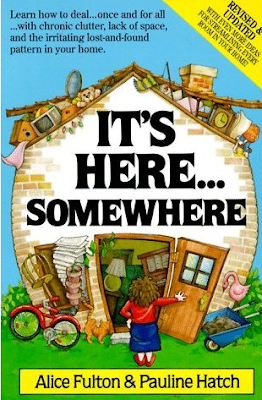 Book cover - It's Here Somewhere