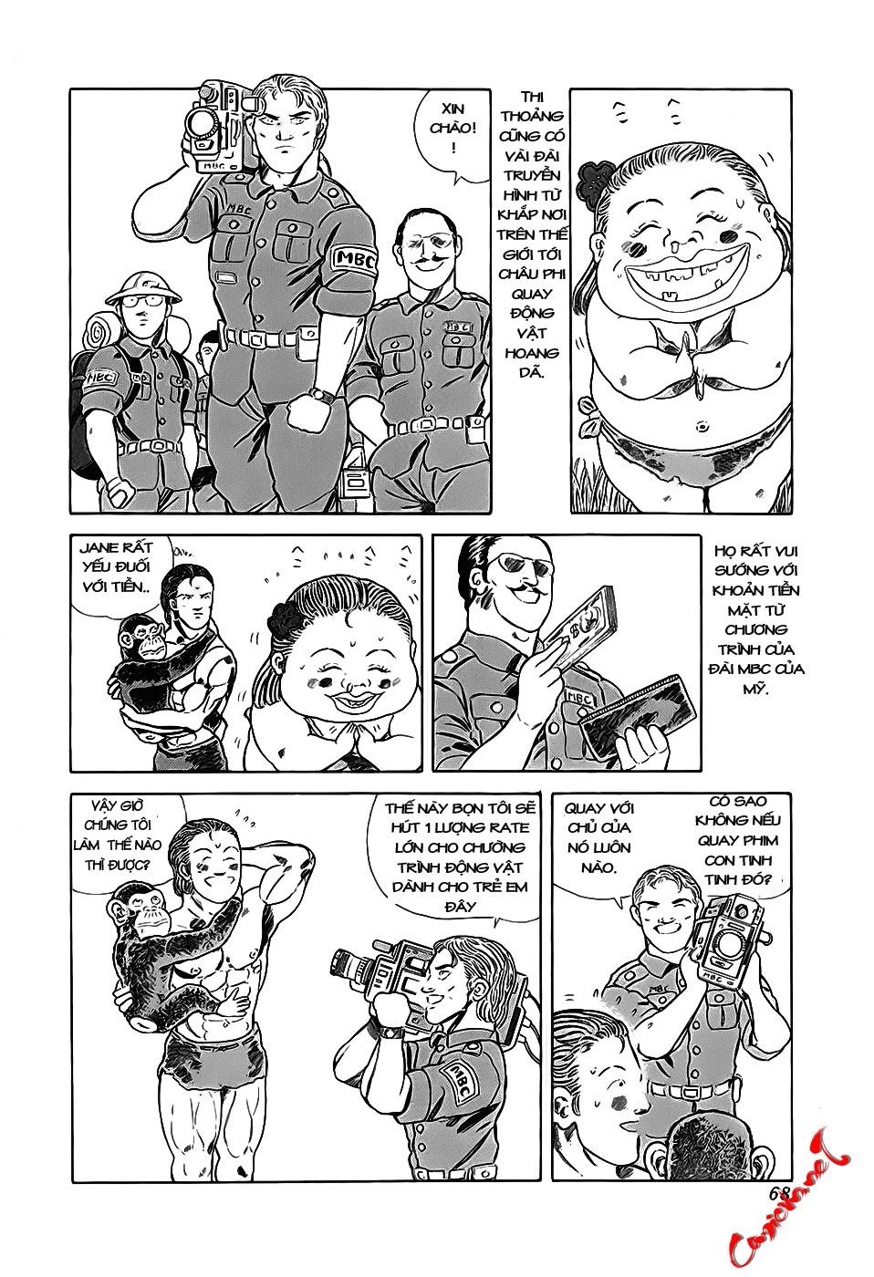 Chúa rừng Ta-chan chapter 9 trang 2