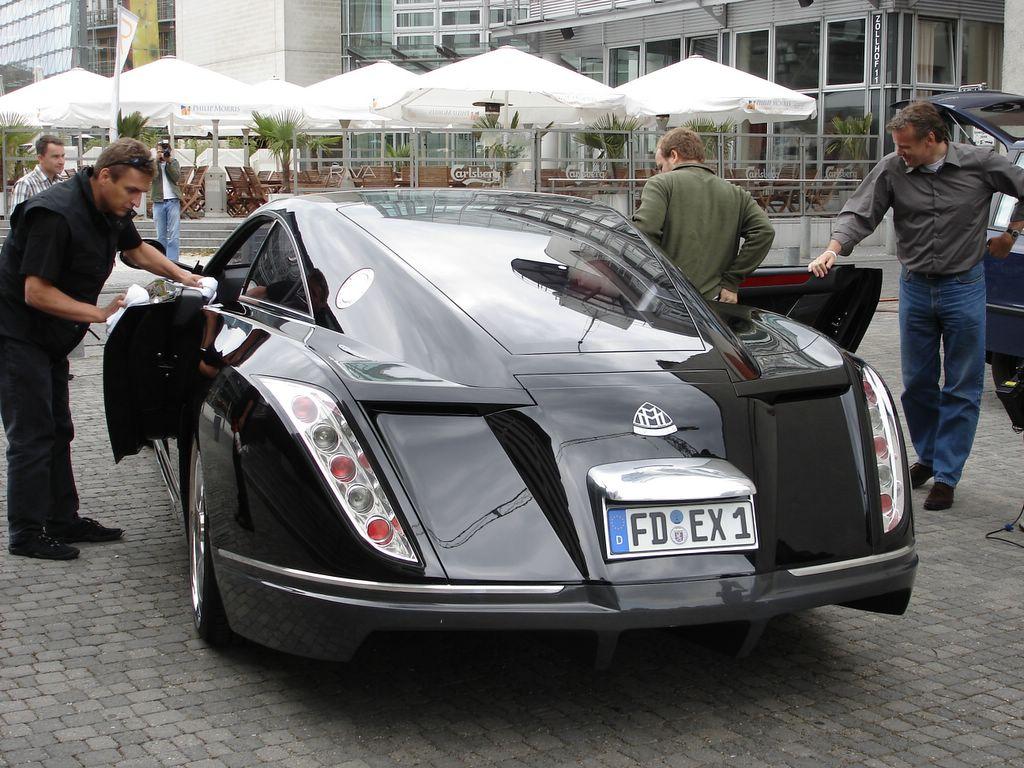 maybach exelero | car top of design trend