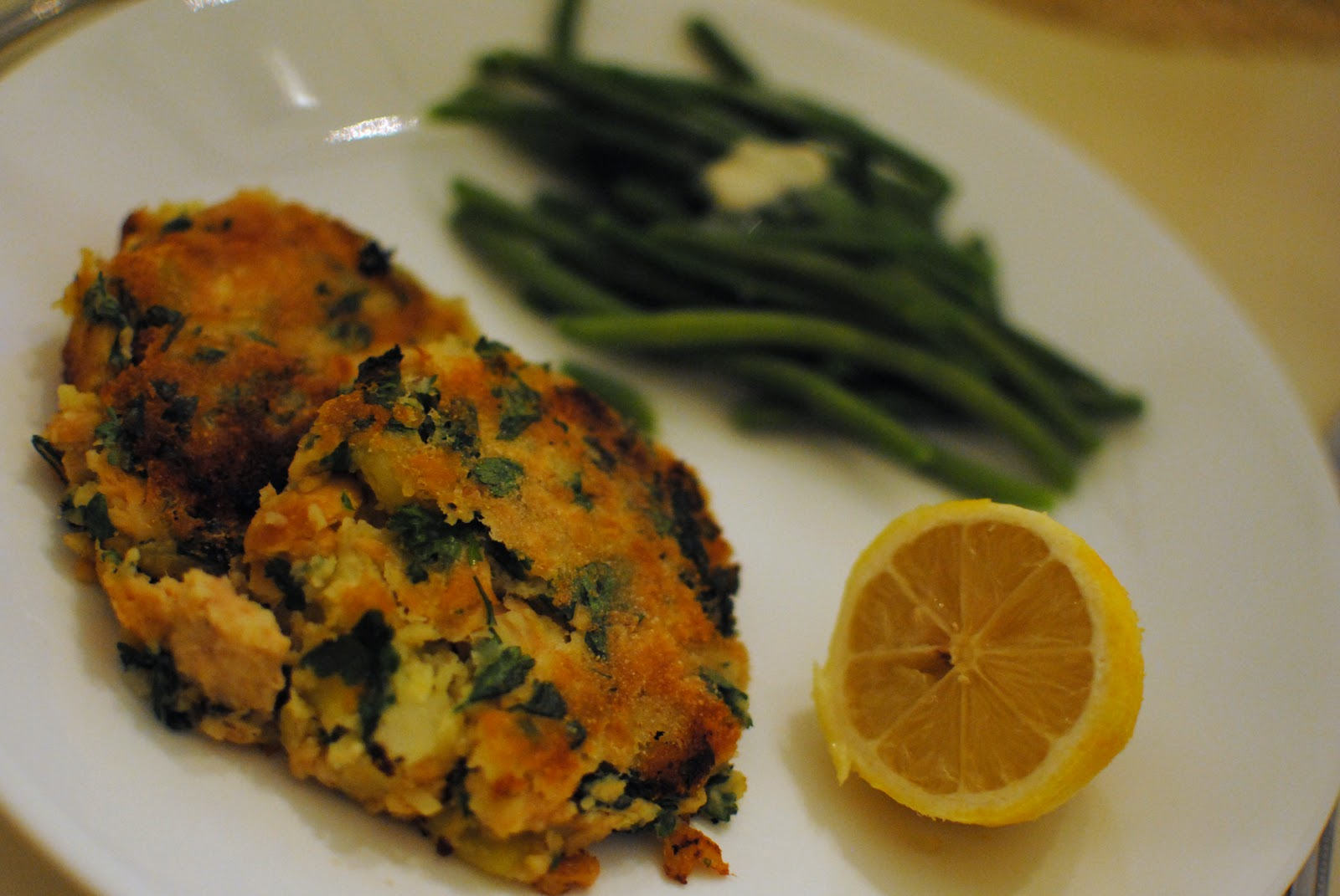 Salmon Fish Cake Recipe Jamie Oliver: Feathers In Our Nest