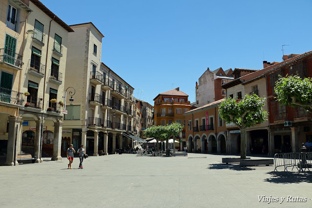 Plaza Mayor, Aranda de Duero