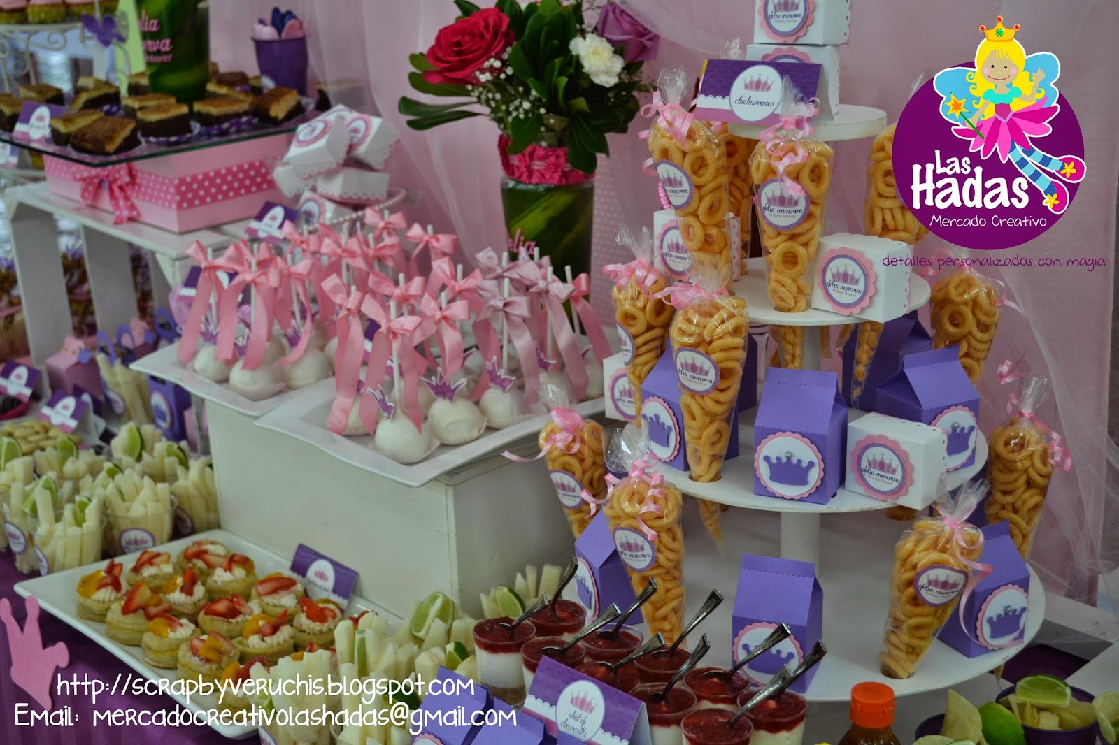 Mesa De Dulces Baby Shower Princess