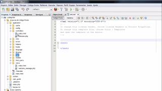 Instalação e configuração de CodeIgniter