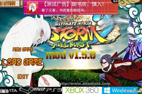 Naruto Senki Mod Uns Full Burst by Ricky Apk