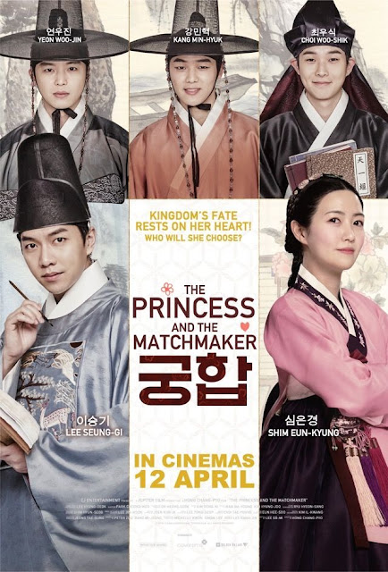The Princess And The Matchmaker, Movie Review, Ulasan Filem, Korean Movie Review, Korean Movie The Princess And The Matchmaker, 2018, Filem Korea The Princess And The Matchmaker, Lee Seung Gi Movie, Korean Movie 2018, Pelakon Filem The Princess And The Matchmaker, Cast, Lee Seung Gi, Shim Eun Kyung, Yeon Woo Jin, Kang Min Hyuk, Choi Woo Sik, Choi Min Ho (SHINEE), Historical Movie, Joseon,