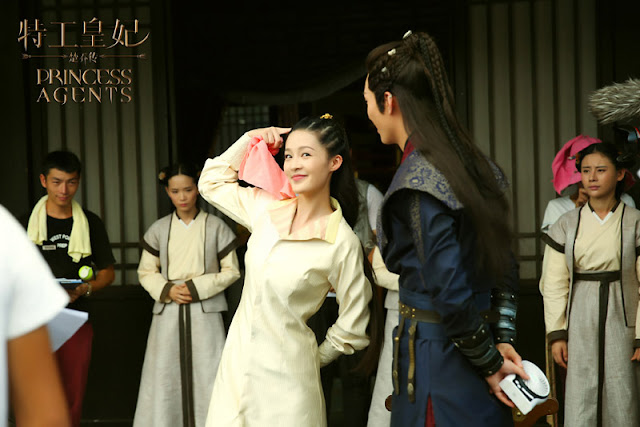 Princess Agents Behind the Scenes