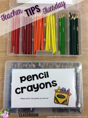 Cheap Colored Pencil Storage
