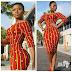 Fabulous Ankara Gown Style