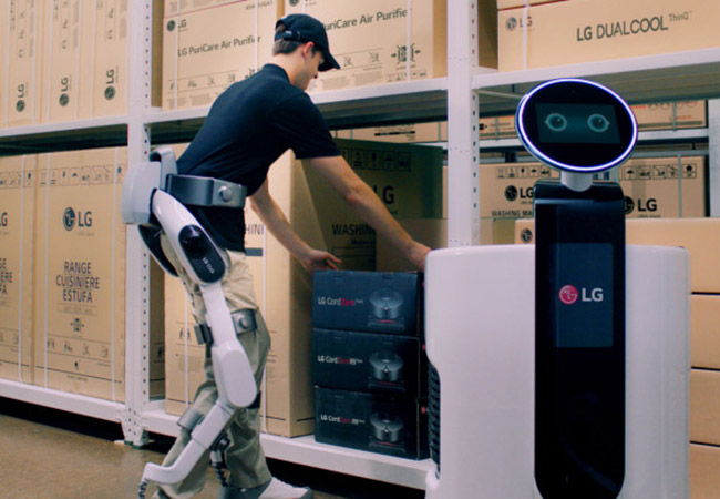 Tinuku LG to unveil first wearable robot CLOi SuitBot at IFA