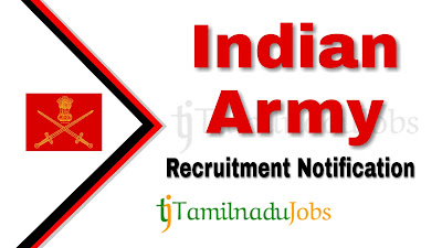 Indian Army Recruitment notification 2019, Indian Army Recruitment 2019, govt jobs for d pharm